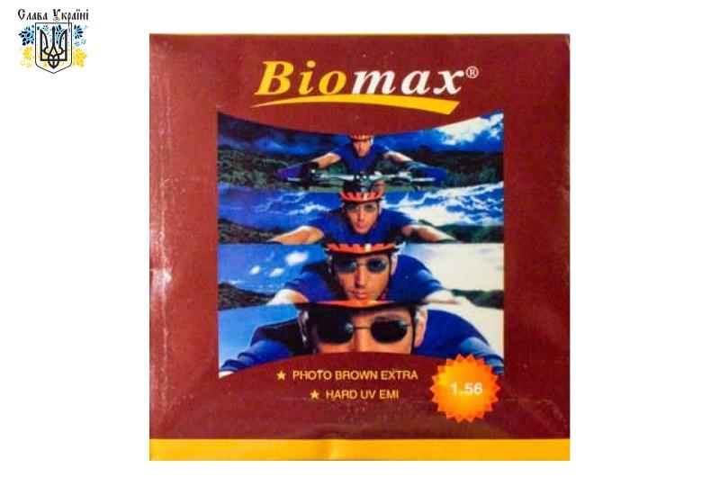 Полимерная астигматическая  фотохромная линза Biomax с серым или коричневым затемнением