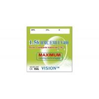 Астигматическая линза VISON 0221 со средним индексом 1,56 (с покрытием HMC+EMI+UV400)