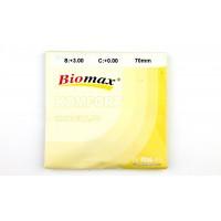 Полимерная линза антифара с антибликовым покрытием Biomax