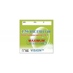 Линзы полимерные Vision HMC/EMI/UV400 с индексом 1.56