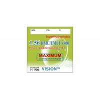 Линзы полимерные Vision HMC/EMI/UV400 SuperHidrophobic с индексом 1.56