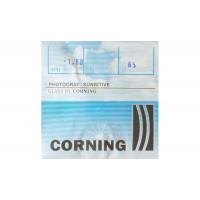 Фотохромная линза для очков Corning Франция. Коричневая или серая