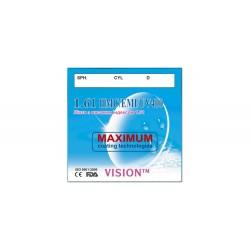 Линзы Vision 1205 полимерные HMC/EMI/UV400 с индексом 1.61