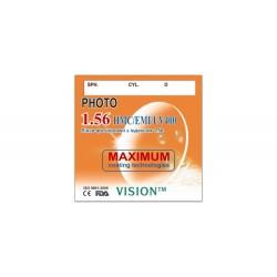 Линзы Vision 1204 полимерные HMC/EMI/UV400/Photo с индексом 1.56
