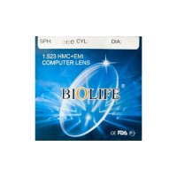 Офисная линза для очков BioLife (стекло)